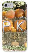 Pumpkins P U M P K I N S IPhone Case by James BO  Insogna