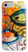 Purposeful Ichthus By Two IPhone Case by J Vincent Scarpace