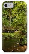 Rain Forest Bridge IPhone Case by Adam Jewell