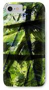 Rainforest Abstract IPhone Case by Bonnie Bruno