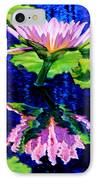 Ripple Reflections Of Beauty IPhone Case by John Lautermilch