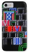 River City IPhone Case by Mark Howard Jones