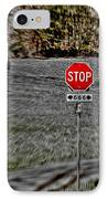 Road To Perdition 2 IPhone Case by Dan Stone