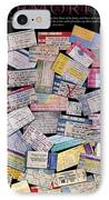 Rock And Roll Memories IPhone Case by Stephen Anderson