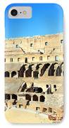 Rome Coliseum IPhone Case by Valentino Visentini