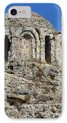 Ruins Of Byzantine Basilica Alanya Castle Turkey IPhone Case by Matthias Hauser