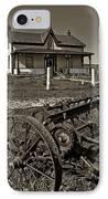 Rural Ontario Sepia IPhone Case by Steve Harrington