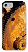 Rust IPhone Case by Jephyr Art