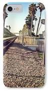 San Clemente Train Tracks IPhone Case by Traci Lehman
