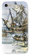 Santa Maria: Wreck, 1492 IPhone Case by Granger