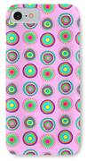 Simple Spots IPhone Case by Louisa Knight