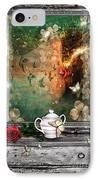Sleeping Beauty IPhone Case by Mo T