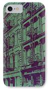 Soho New York IPhone Case by Naxart Studio