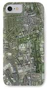 Southampton,uk, Aerial Image IPhone Case by Getmapping Plc