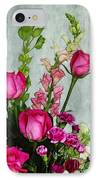 Spray Of Flowers IPhone Case by Judi Bagwell