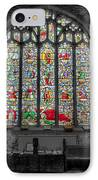 St Dyfnog Window IPhone Case by Adrian Evans