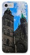 St. Lorenz Church - Nuremberg IPhone Case by Juergen Weiss