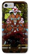 Stained Glass Lc 17 IPhone Case by Thomas Woolworth
