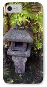 Stone Lantern IPhone Case by Nina Fosdick