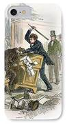Sumner And Brooks, 1856 IPhone Case by Granger