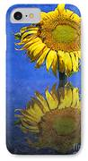 Sunflower Reflection IPhone Case by Andee Design