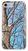Sunning In The Tree IPhone Case by Aimee L Maher Photography and Art Visit ALMGallerydotcom