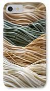 Tagliolini Pasta IPhone Case by Elena Elisseeva