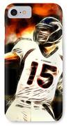 Tebow IPhone Case by Paul Van Scott