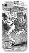 Tennis: Wimbledon, 1880 IPhone Case by Granger