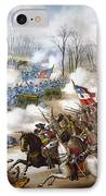 The Battle Of Pea Ridge, IPhone Case by Granger