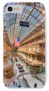 The Cleveland Arcade Iv IPhone Case by Clarence Holmes