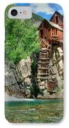 The Crystal Mill 1 IPhone Case by Ken Smith