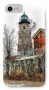 The Lighthouse IPhone Case by Ken Marsh