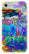 The Old Santa Fe IPhone Case by Joyce Dickens