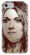 Three Interpretations Of Celine Dion IPhone Case by J McCombie