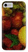 Tiled Fruit  IPhone Case by Mauro Celotti