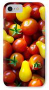 Tomatoes Background IPhone Case by Carlos Caetano