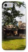 Tom's Cabin In Newport IPhone Case by Robert Margetts