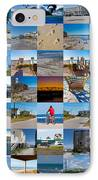 Topsail Visual Contemporary Quilt Series II IPhone Case by Betsy Knapp