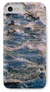 Triathlon Swimmers IPhone Case by G. Brad Lewis