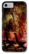 Tropical Bench IPhone Case by Susanne Van Hulst