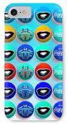 Uncle Sams Buttons IPhone Case by Charles Stuart