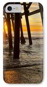 Under The Pier IPhone Case by Athena Lin