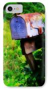 U.s. Mail 2 IPhone Case by Perry Webster