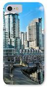 Vancouver Harbour IPhone Case by Kamil Swiatek