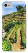 Vineyard Landscape IPhone Case by Carlos Caetano