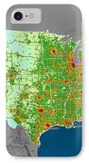 Vulcan Co2 Maps IPhone Case by Nasa