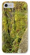 W Road In Autumn IPhone Case by Tom and Pat Cory