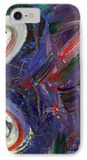 Who Sees ... IPhone Case by Gwyn Newcombe