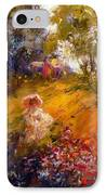 Wildflowers IPhone Case by Marie Green